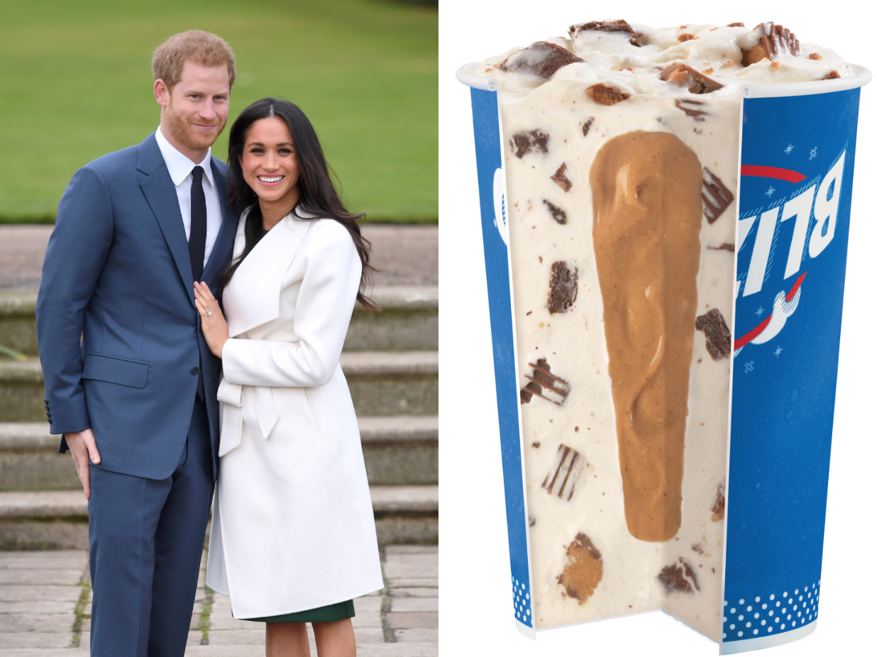 Dairy Queen Is Temporarily Serving a 'Royal Baby Blizzard'