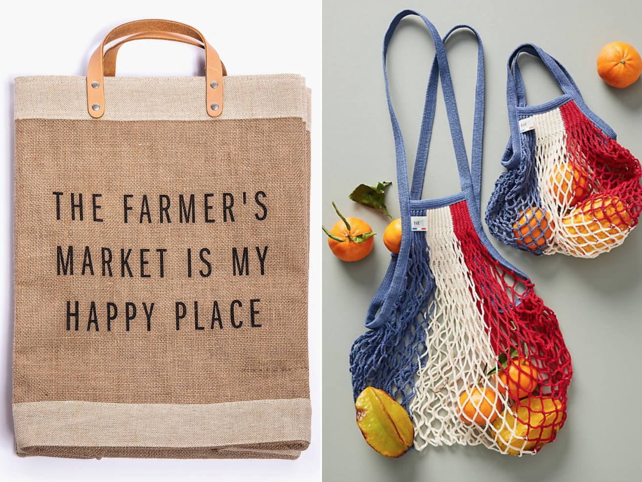 10 Practical, Stylish, Farmer's Market-Ready Tote Bags