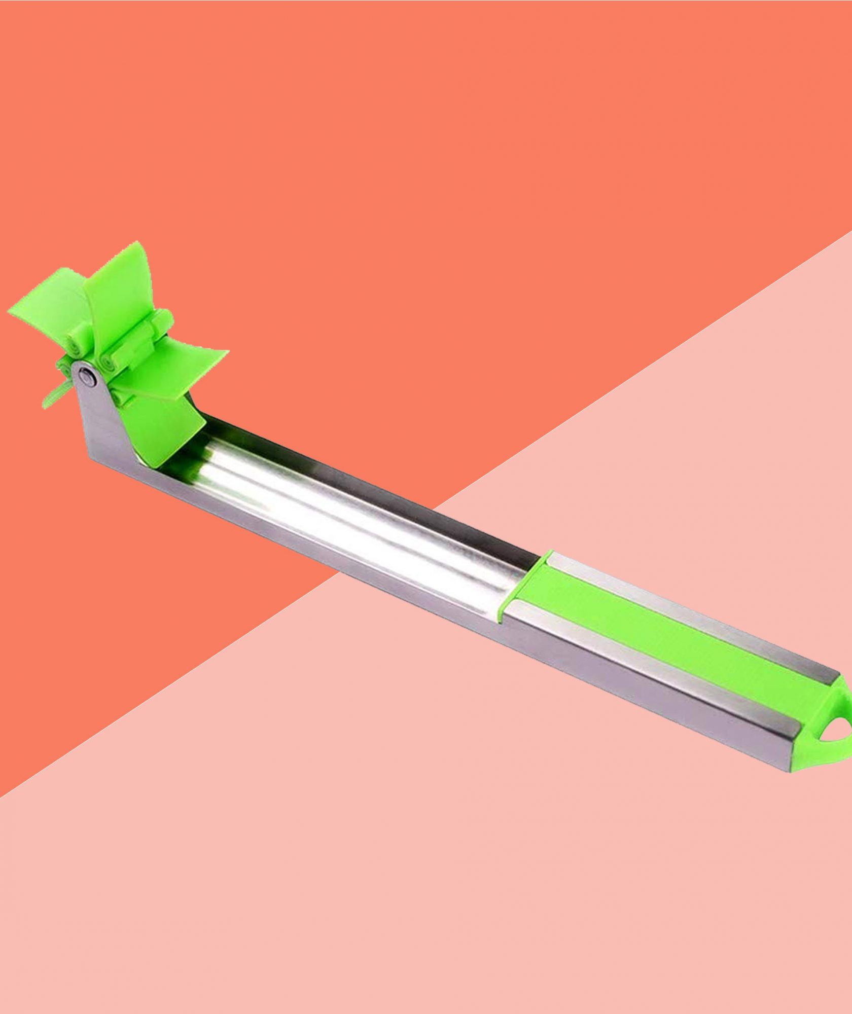"""This Watermelon """"Windmill"""" Cutter Is the Easiest, Mess-Free Way to Cut Melon"""