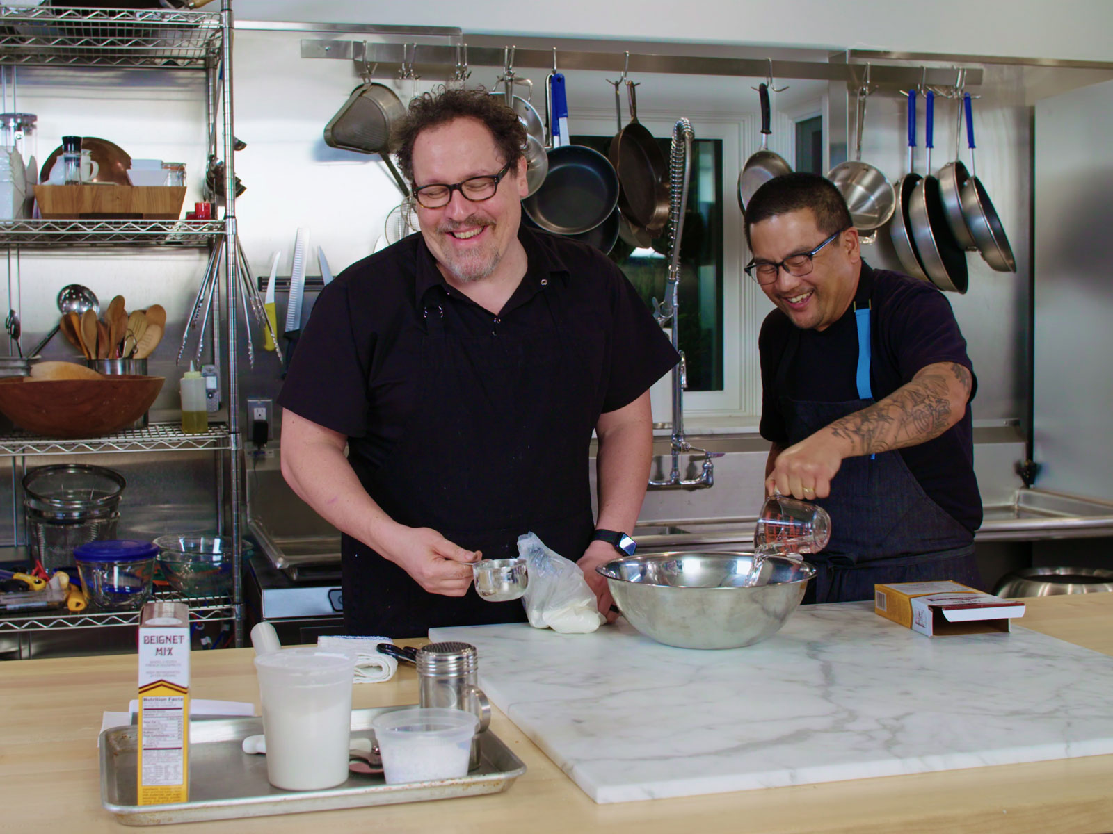 Roy Choi and Jon Favreau Revisit Dishes from 'Chef' on 'The Chef Show'