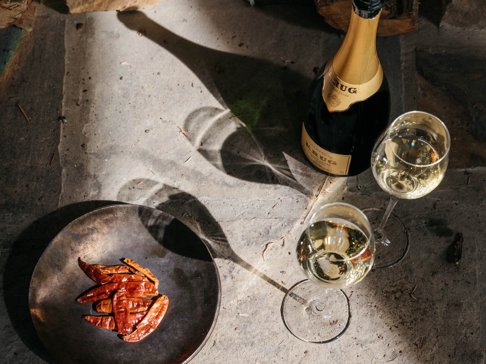 The Case for Pairing Champagne With Peppers—and How to Do It at Home