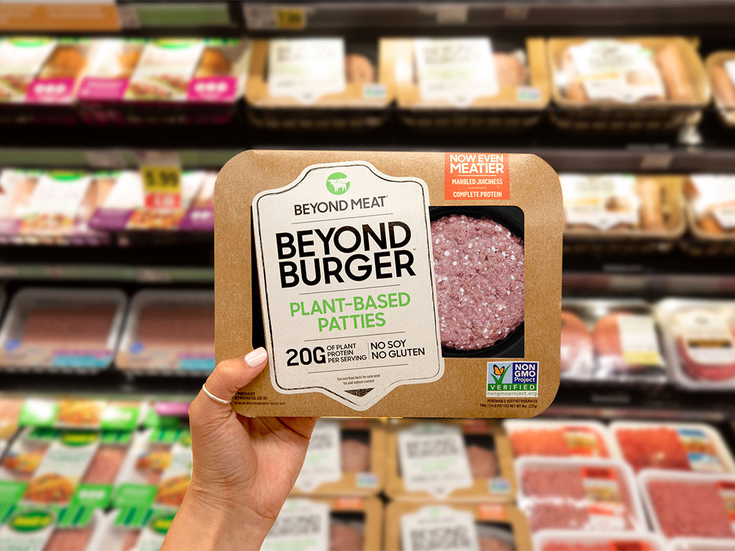 Beyond Meat's 'Meatier' Plant-Based Burger Now Has Marbling
