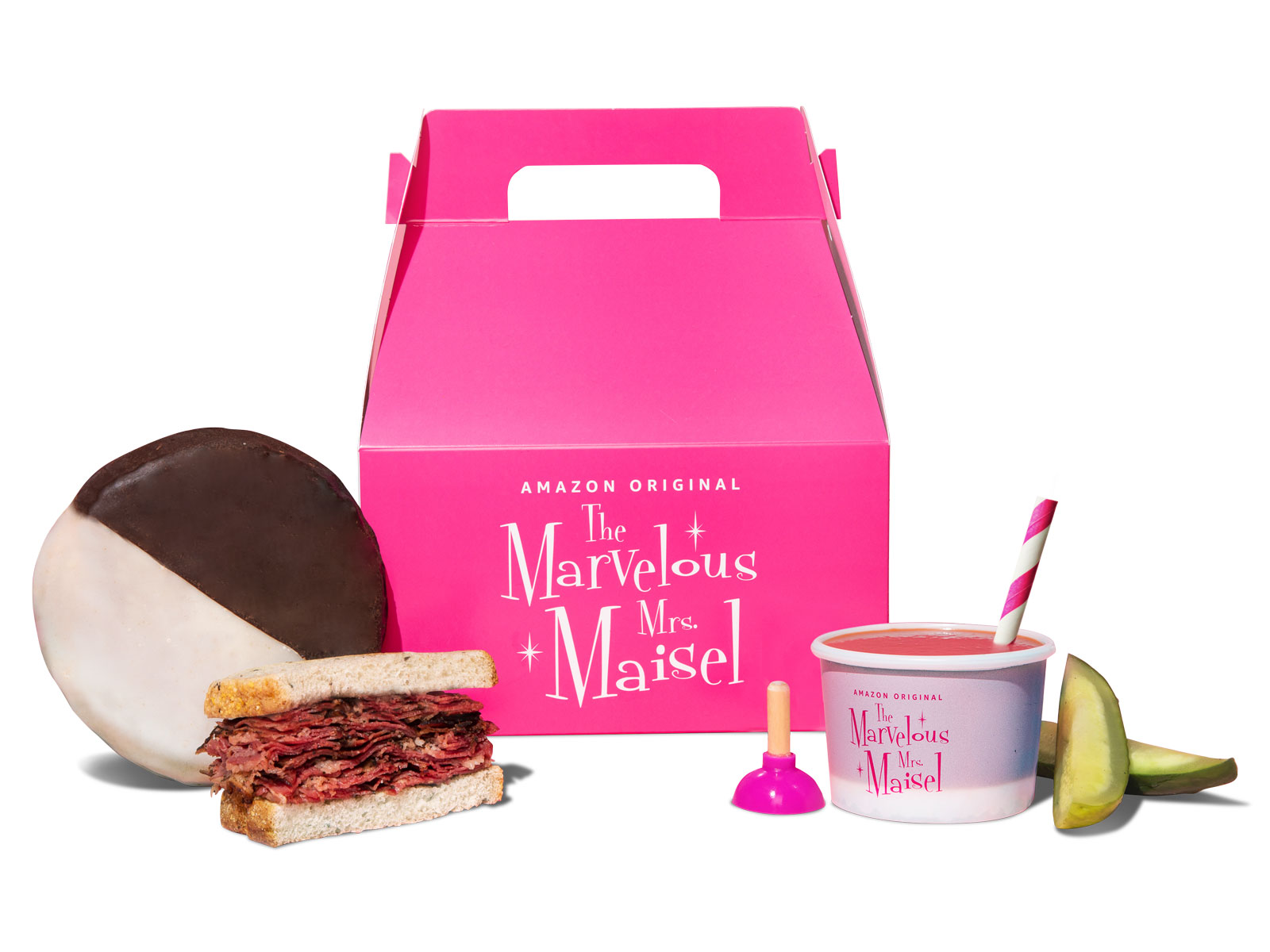 Postmates Is Giving Out 'The Mrs. Marvelous Maisel'-Themed Lunches For Free