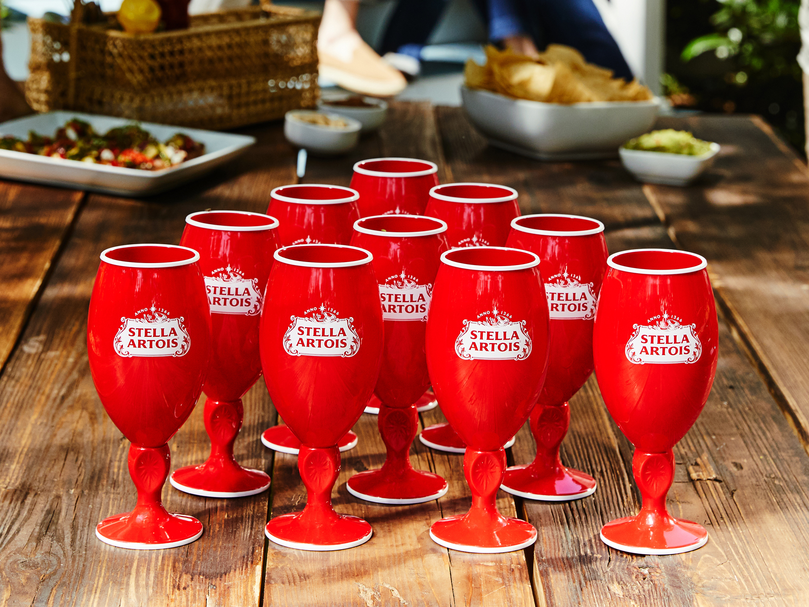 Stella Artois Created a Red Party Cup Version of Its Classic Chalice