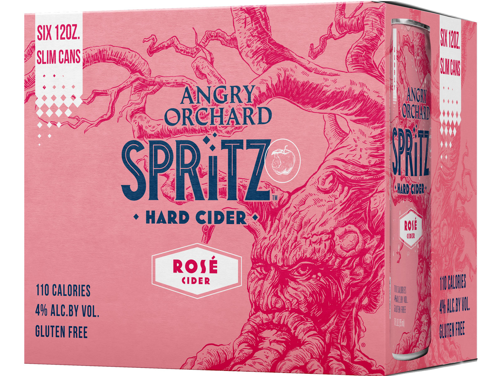 Angry Orchard Spritz Rosé Hard Cider.