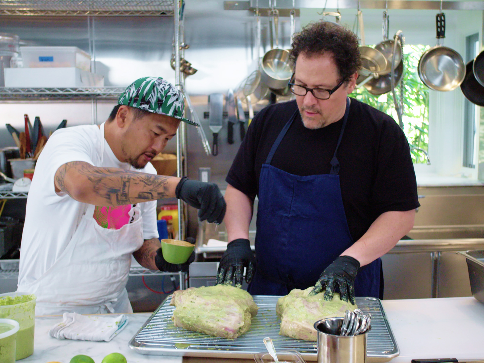 Jon Favreau and Roy Choi Dish on Their Bromance and Reuniting for Netflix's The Chef Show