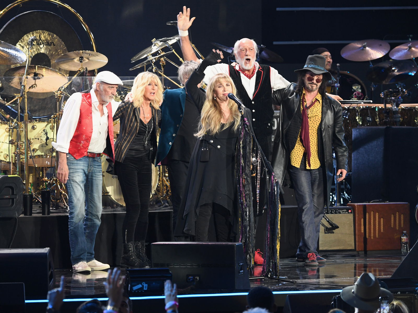 Fleetwood McDonald's Employees Got to Meet Fleetwood Mac