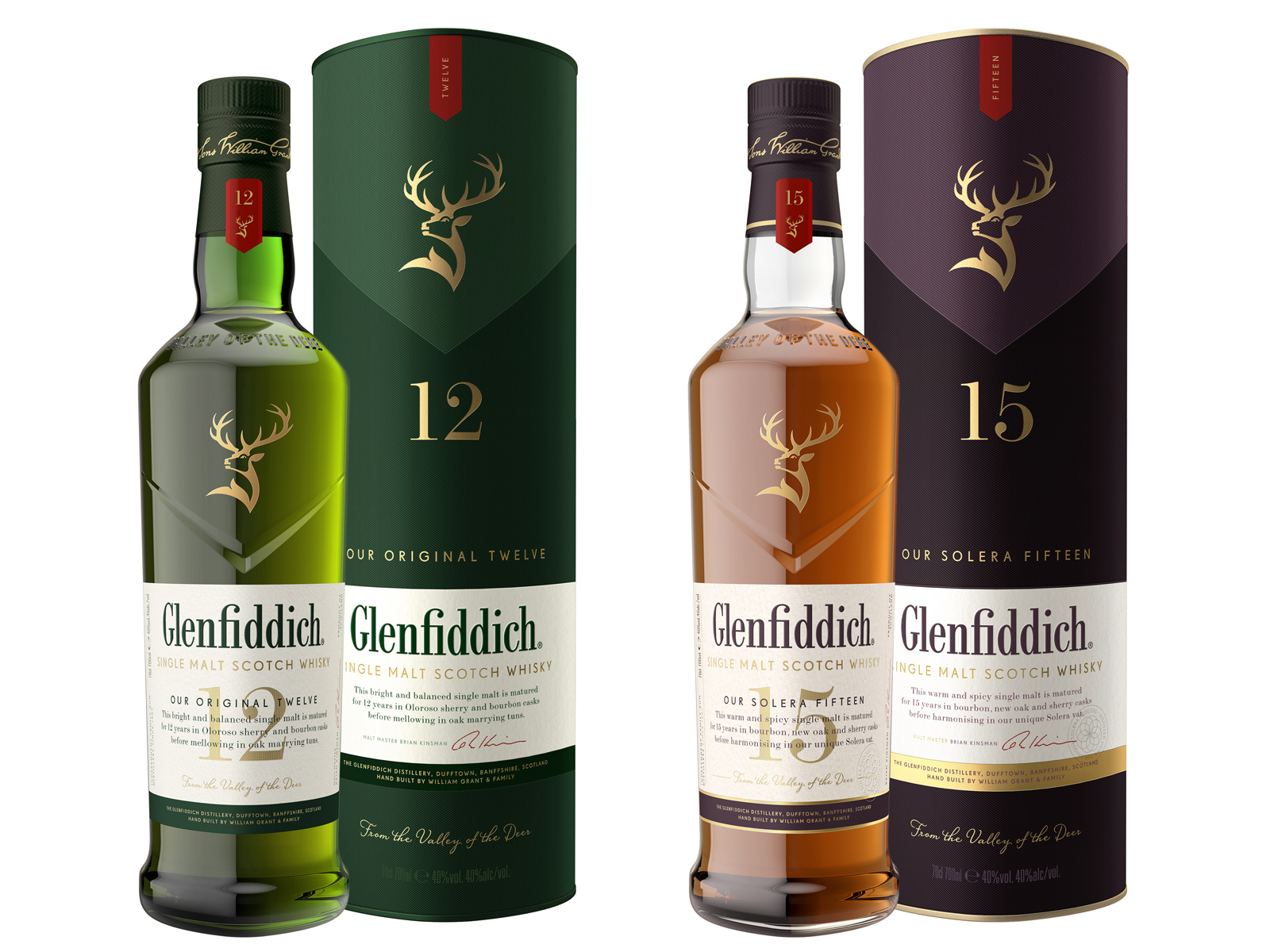 The World's Two Best-Selling Scotch Brands Look a Little Different
