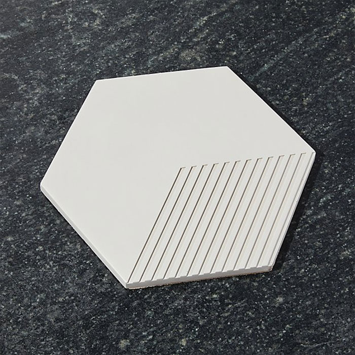 Hexagon Concrete Trivet