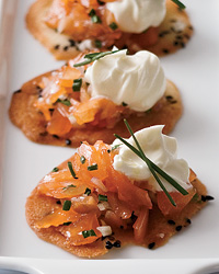 Thomas Keller's Smoked Salmon Crisps