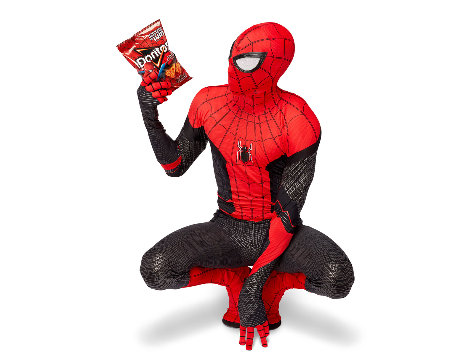 These 'Incognito Doritos' Bags Secretly Turn into Spider-Man Suits