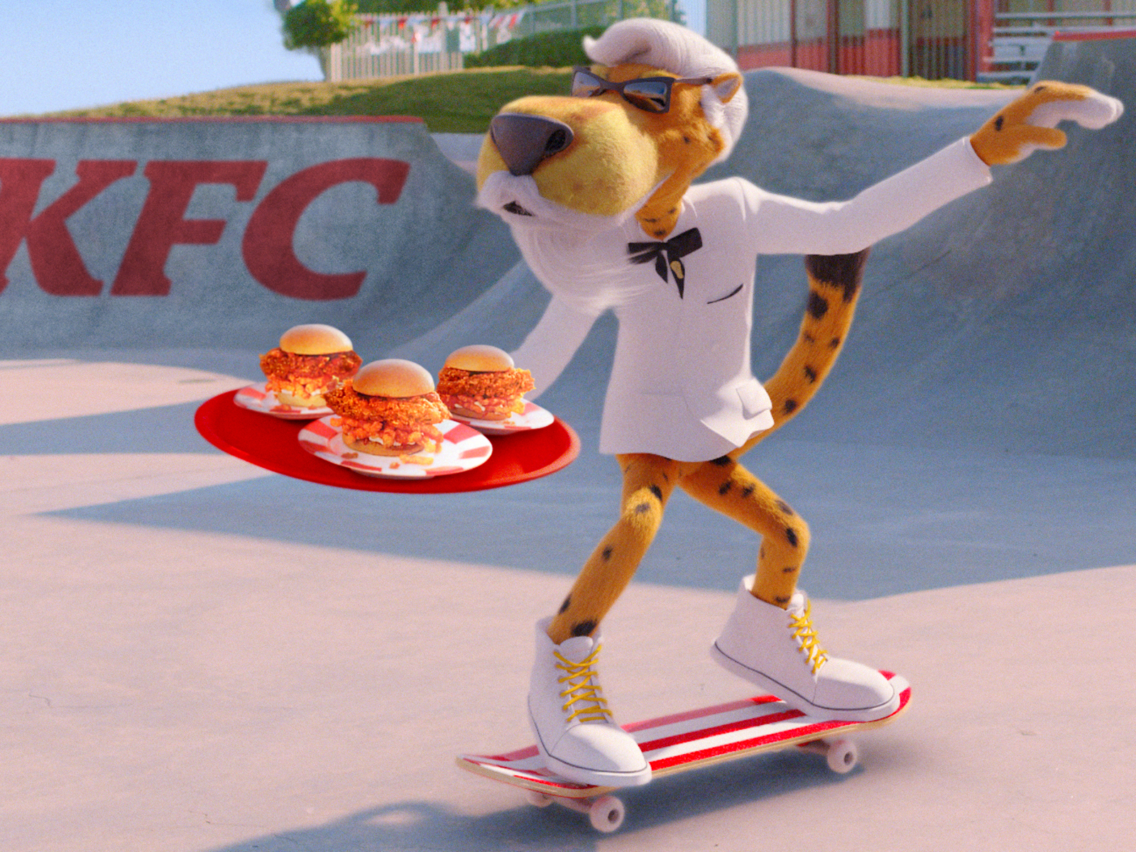 Chester Cheetah Is the New Colonel Sanders and, Yeah, This Totally Makes Sense
