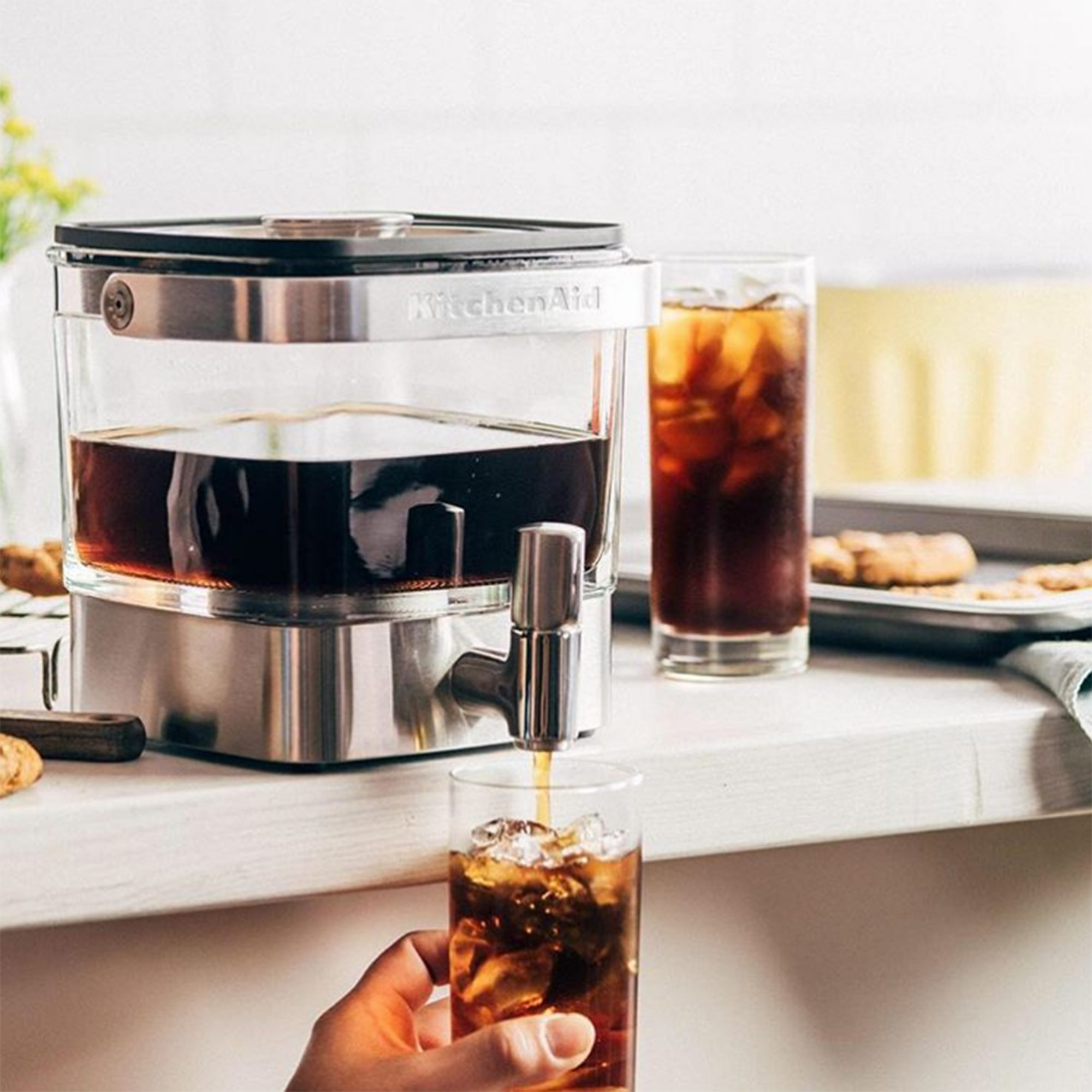 Amazon Is Having a Secret Sale on This Popular KitchenAid Cold Brew Coffee Maker — but You Have to Act Fast