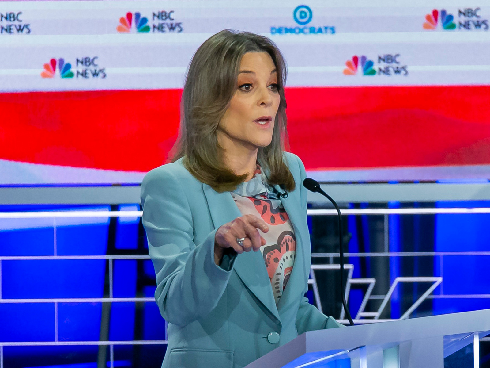 Marianne Williamson Probably Won't Be President, But She's the Only Candidate Who Brought Up Food Policy