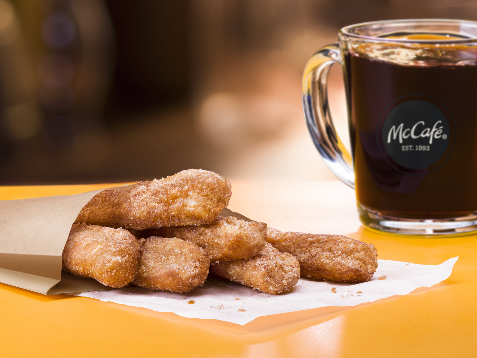 McDonald's Donut Sticks Return with a Chocolate Marshmallow Dipping Sauce