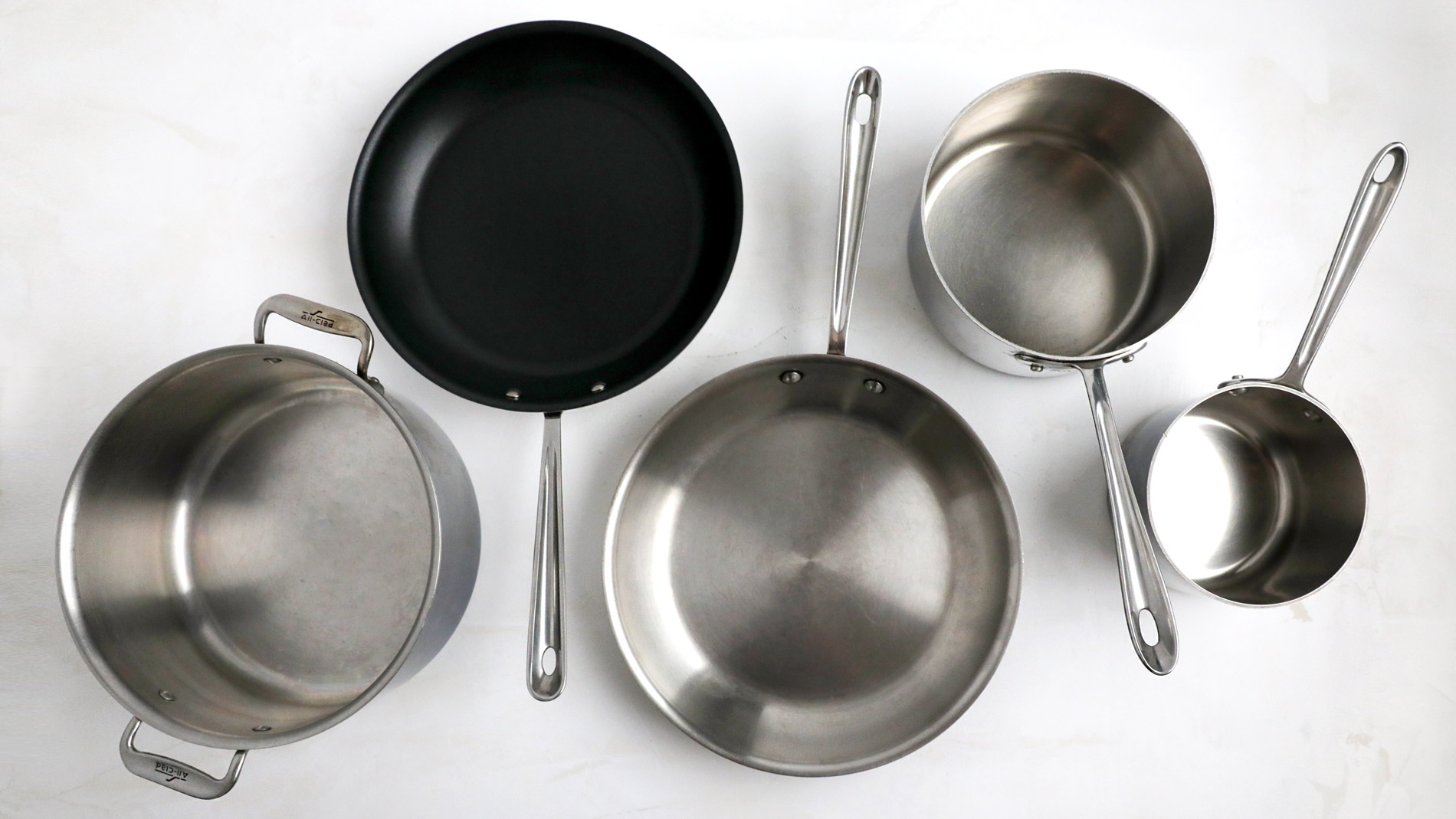 Test Kitchen Pots and Pans