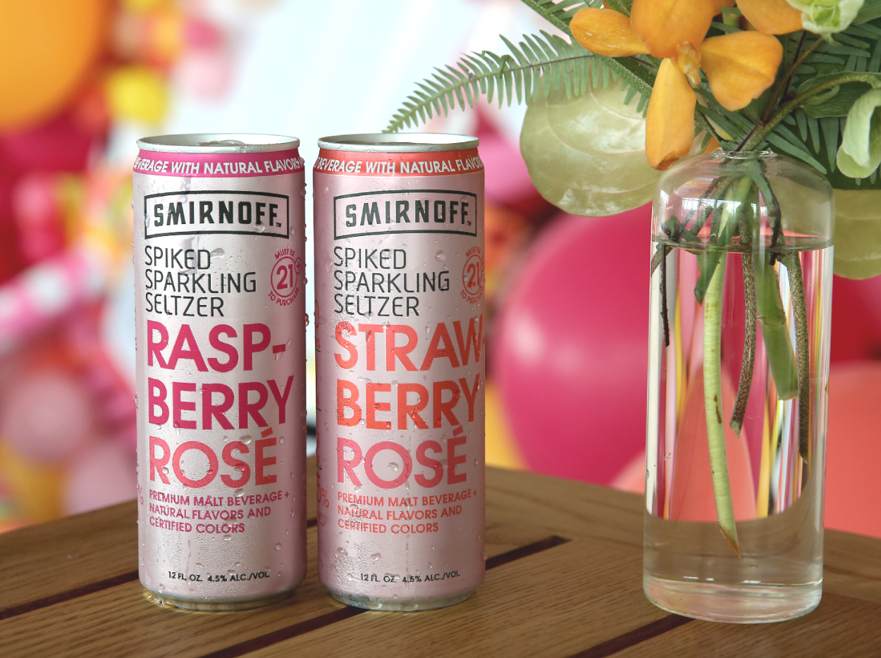 Smirnoff Just Released a Bunch of New Rosé-Inspired Spiked Seltzers