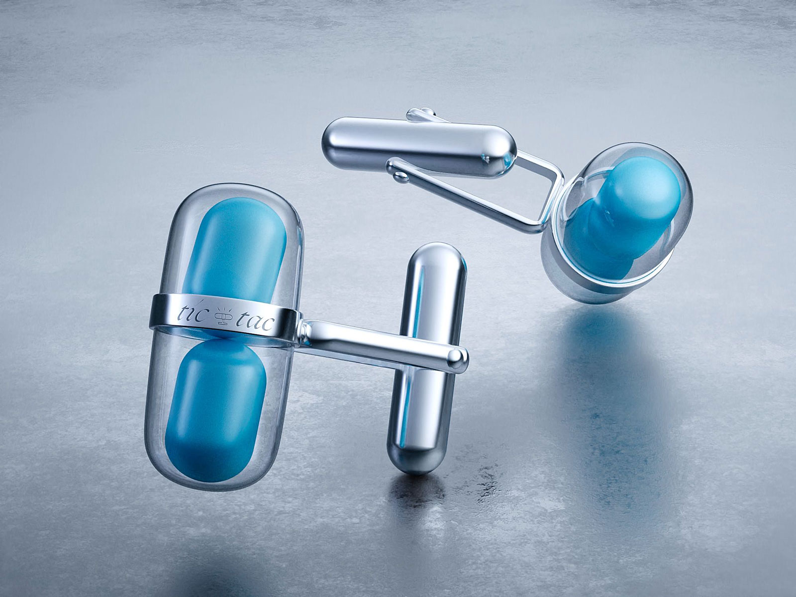 Tic Tac Created a Pair of Mint-Holding 'Luxury Cufflinks'