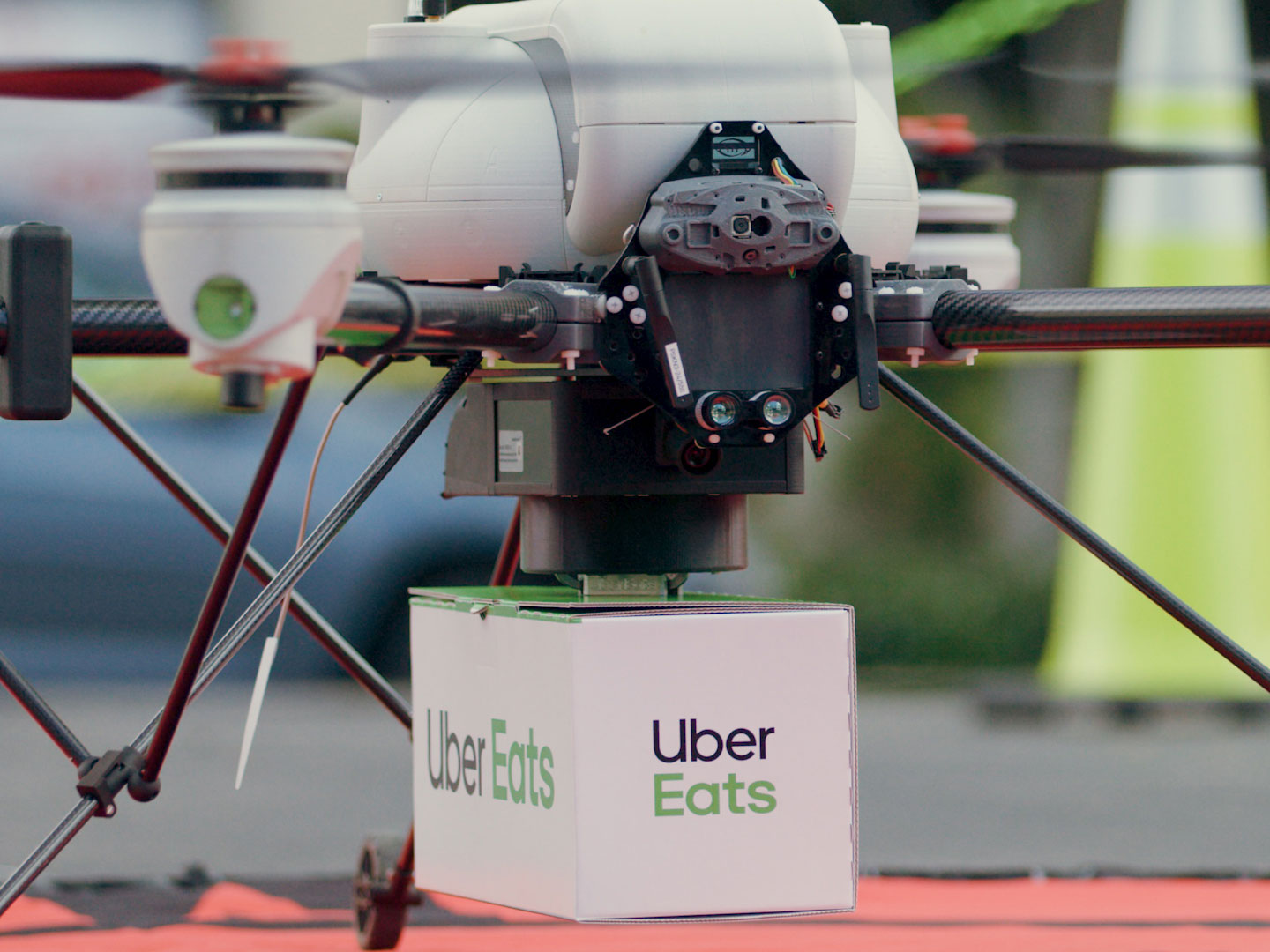 Uber Eats Drone Delivery
