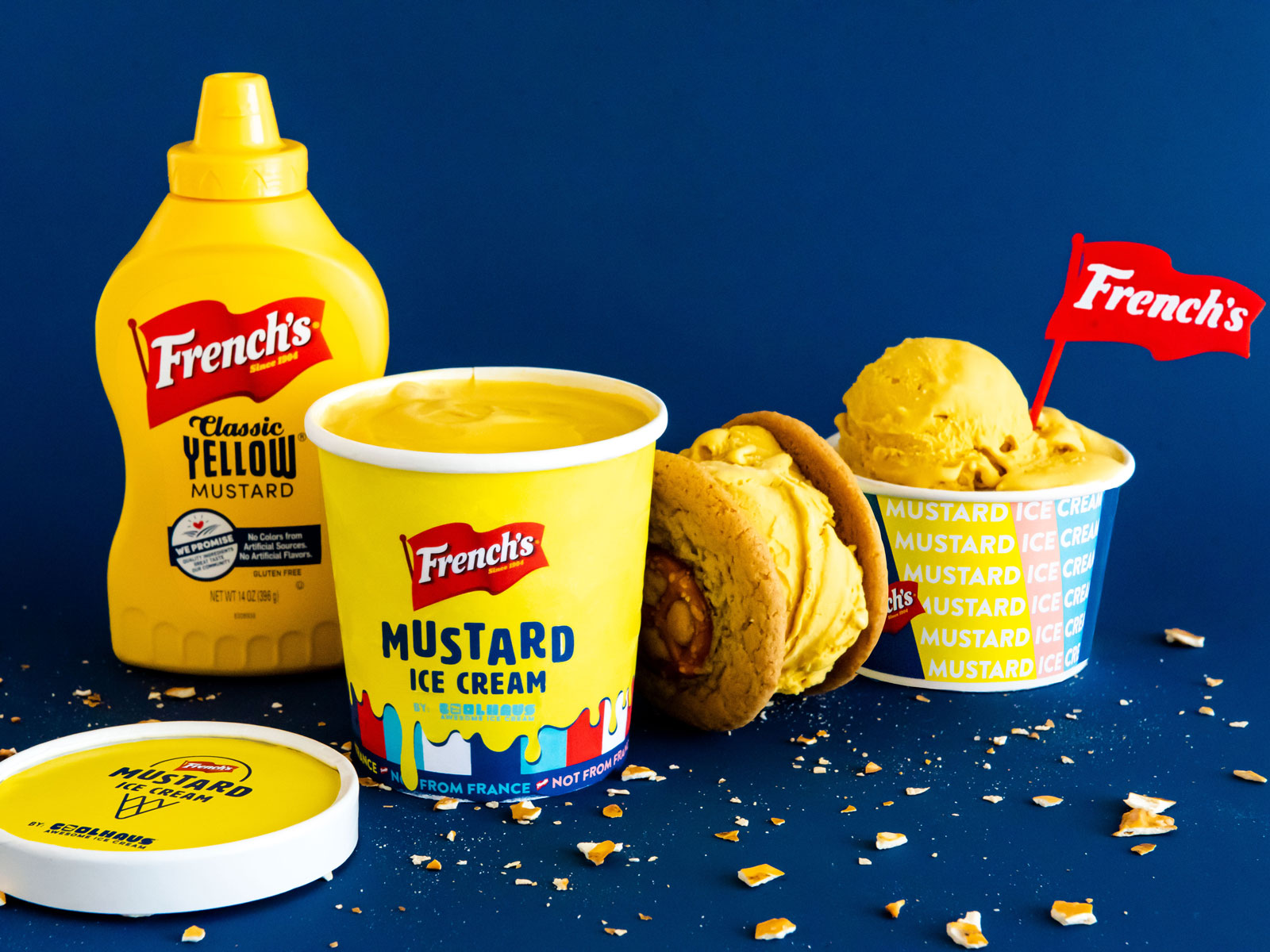 This Mustard Ice Cream Is Very Polarizing