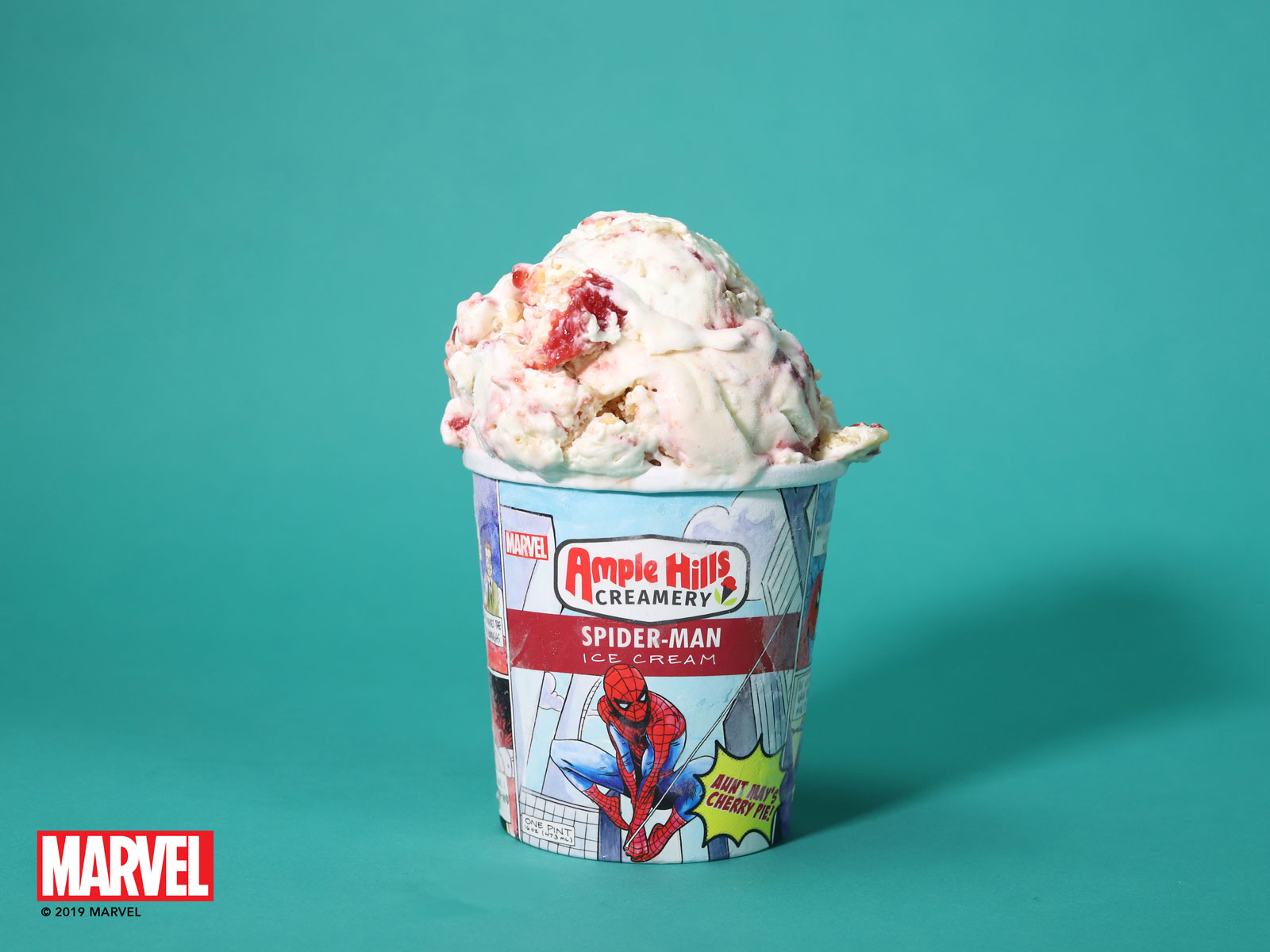 Ample Hills Debuts Captain America, Black Panther, and Spider-Man Ice Cream Flavors