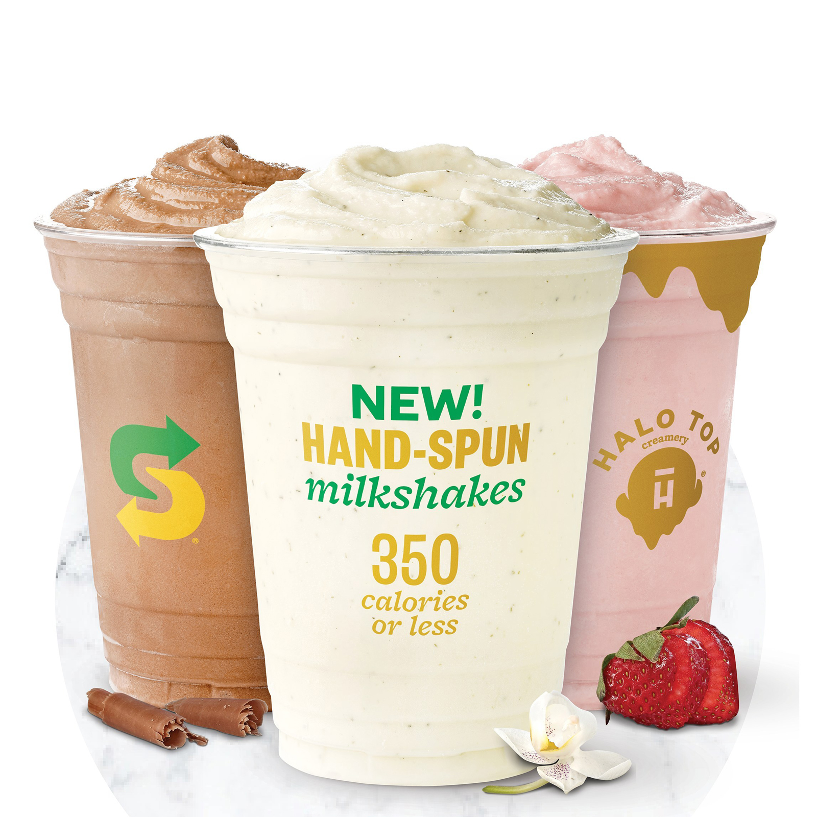Subway Tests Halo Top Milkshakes at 1,000 Locations