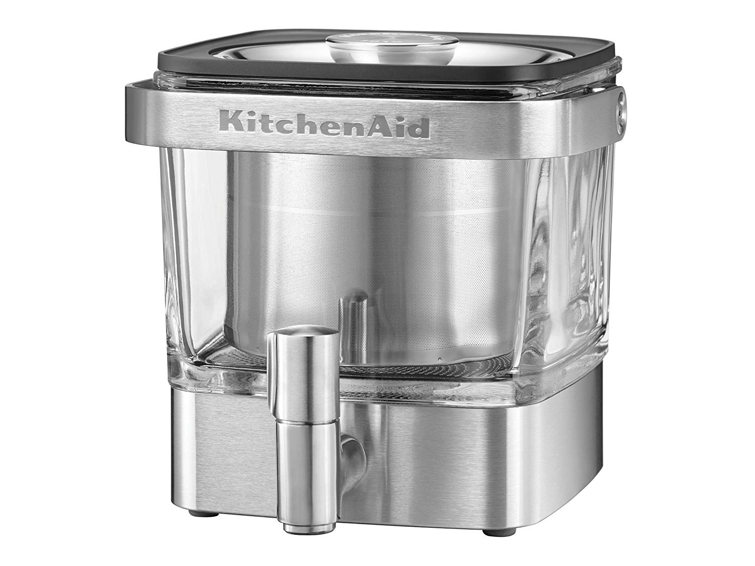 KitchenAid KCM4212SX Cold Brew Coffee Maker-Brushed Stainless Steel