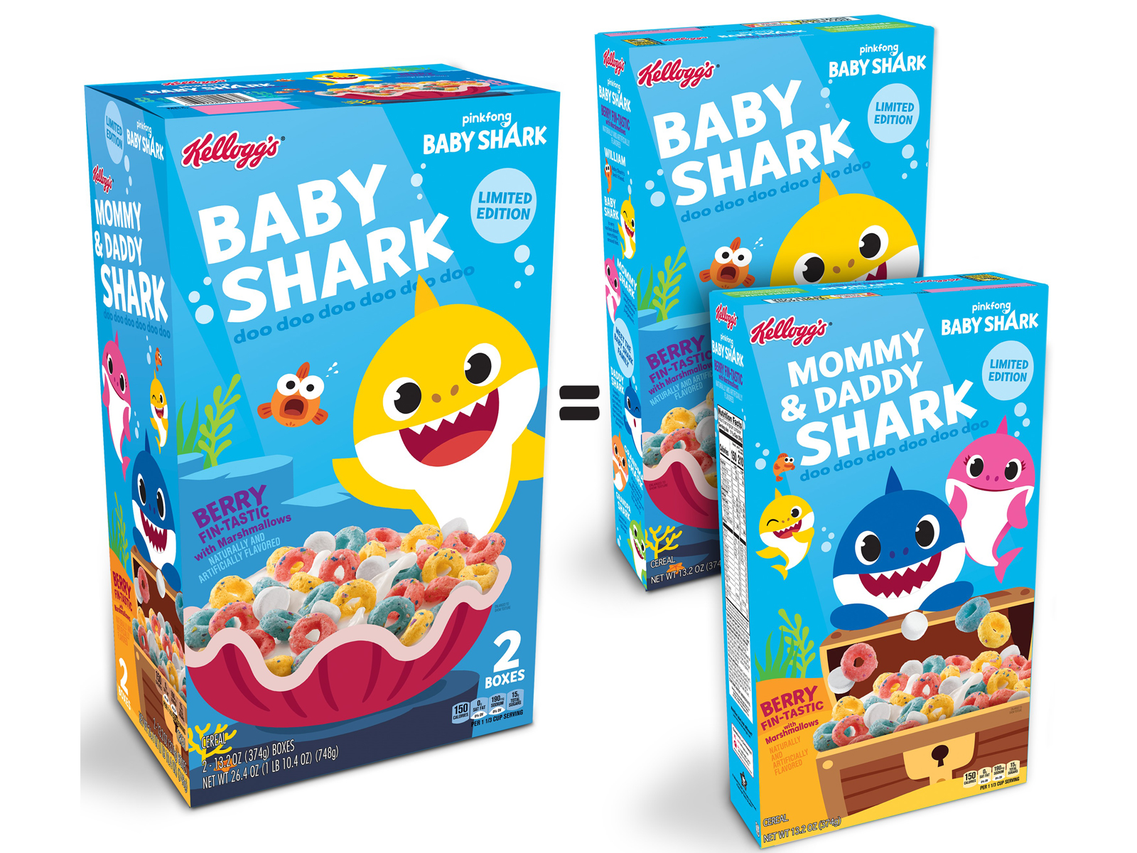 Baby Shark Cereal Is Finally Swimming Your Way