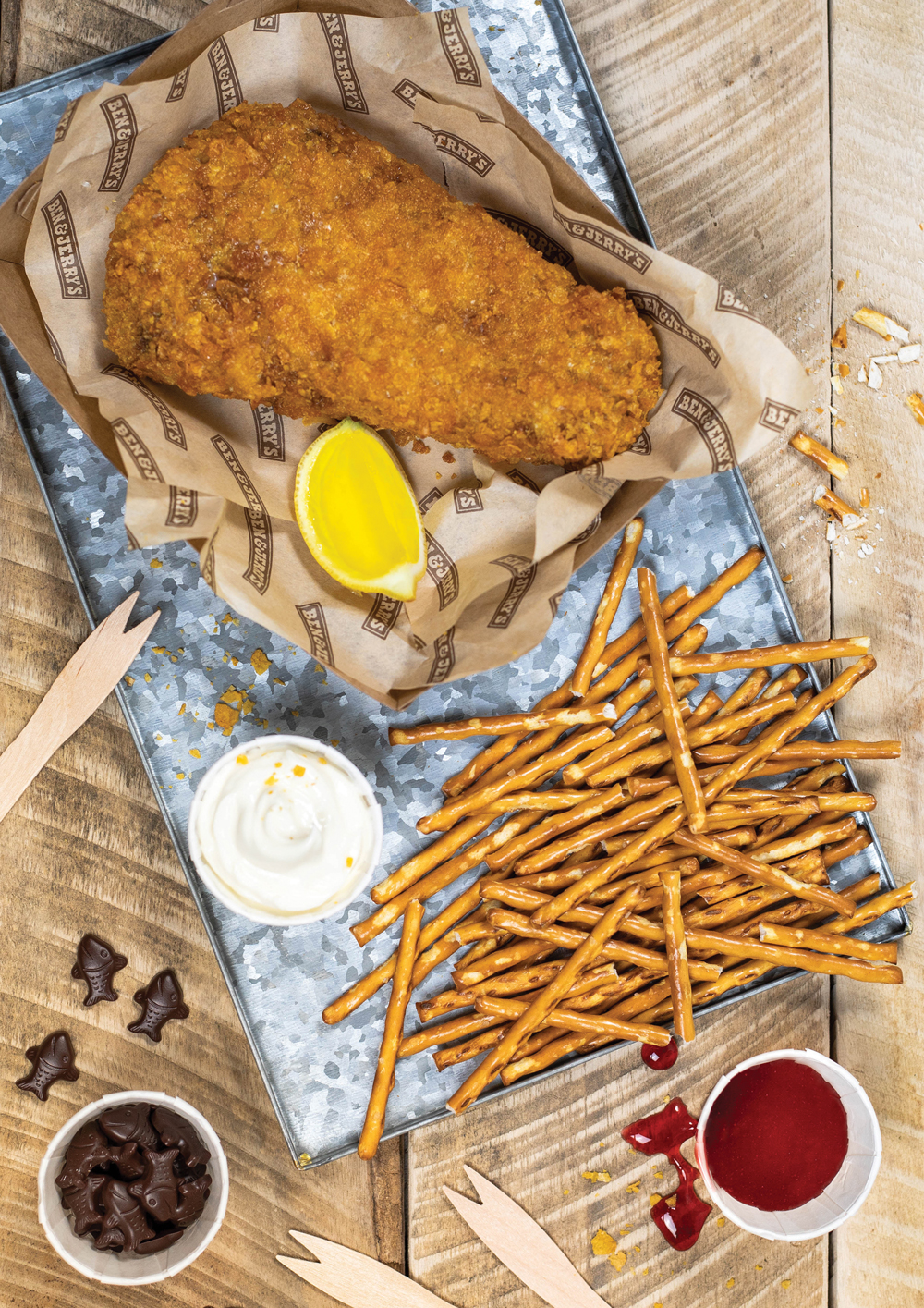Ben & Jerry's Adds Fried 'Phish & Chips' Ice Cream to ...