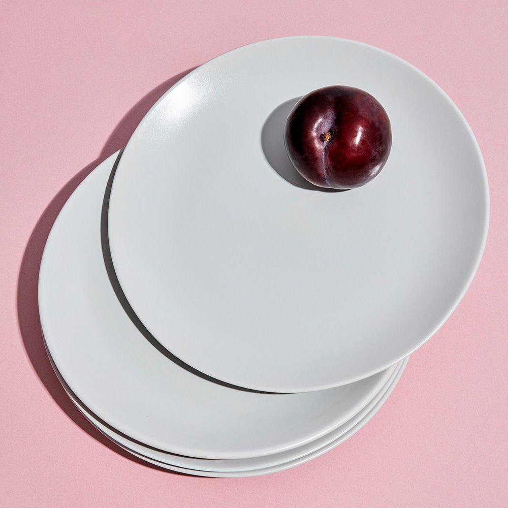 White dinner plates from Year & Day