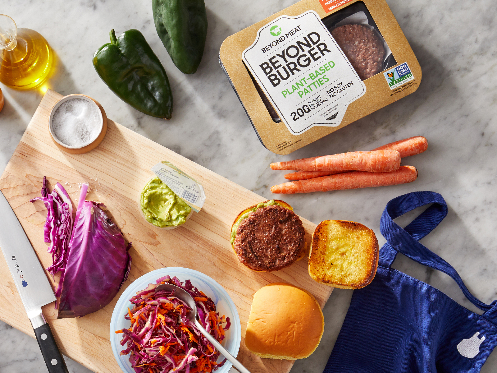 Blue Apron Adds Beyond Meat Options to Meal Kits