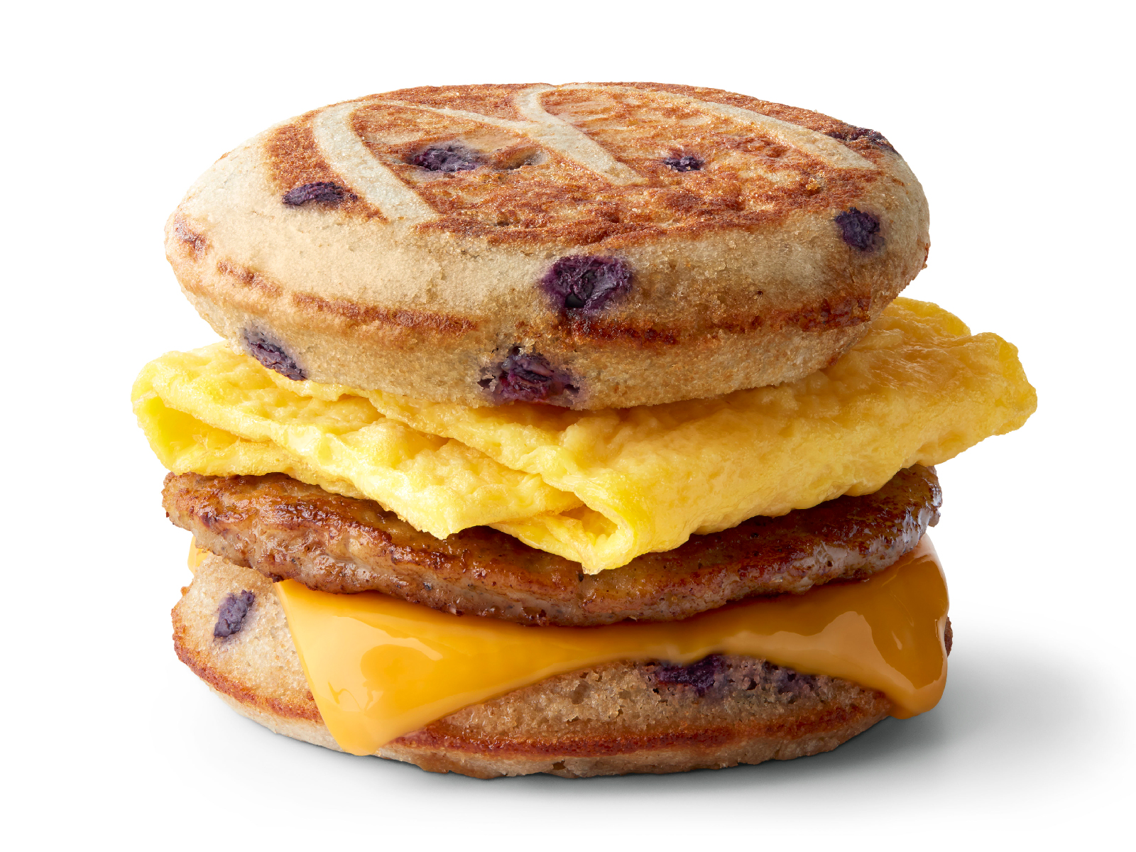 McDonald's Tests Blueberry McGriddle Sandwich
