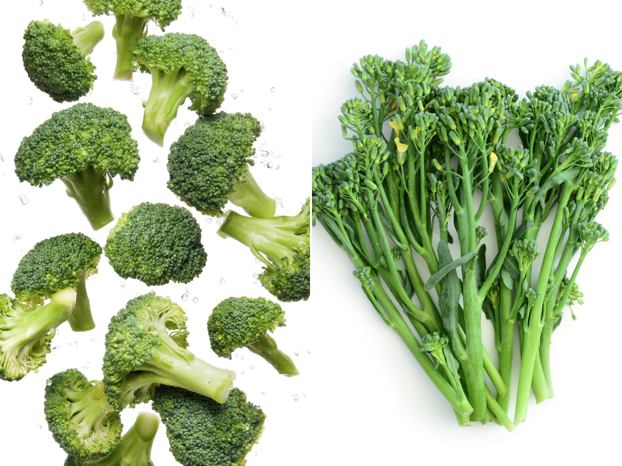 What's the Difference Between Broccoli and Broccolini?