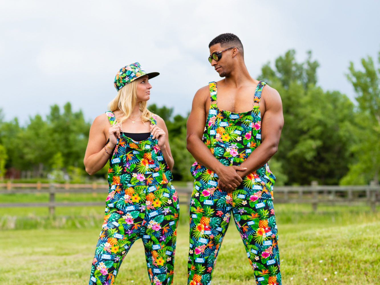 Bud Light's 'Pajameralls' Are Sure to Turn Heads At Your Next Cookout