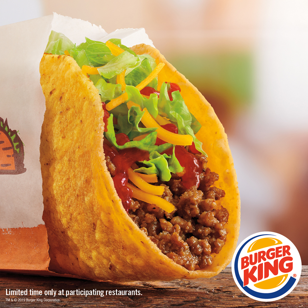 Burger King Adds $1 Crispy Taco to Menus Nationwide