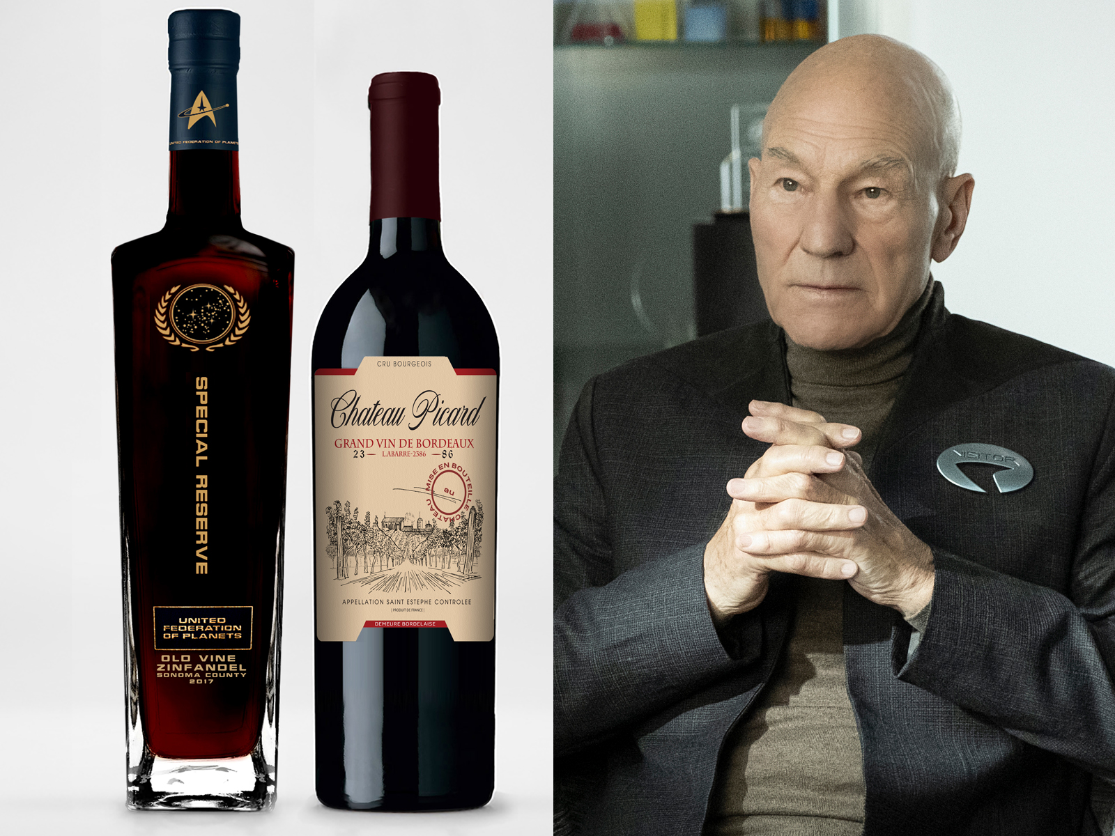This 'Star Trek' Wine Was Produced at the Actual Chateau Picard in France