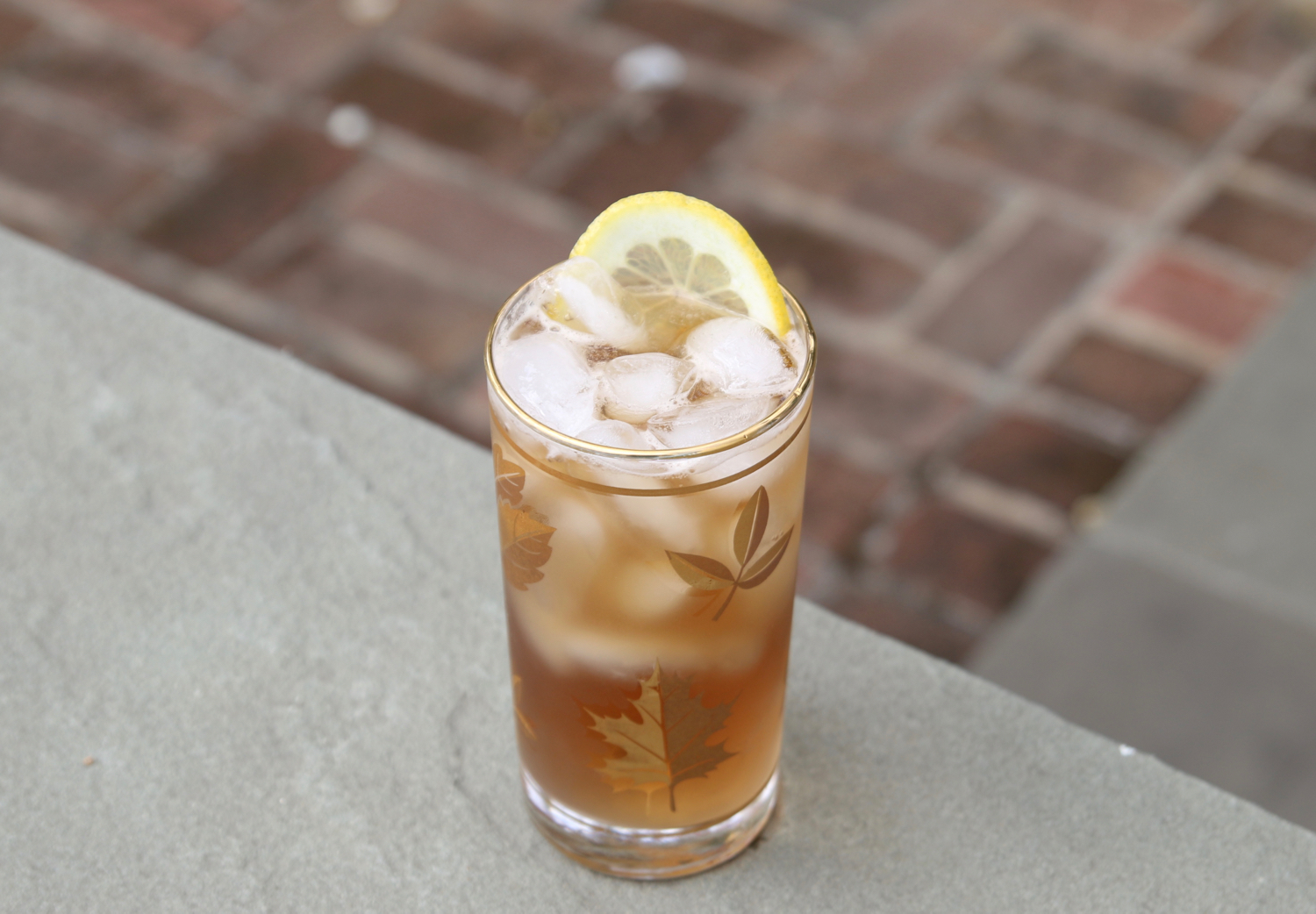 LCR smoky ginger ale
