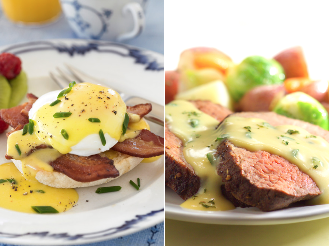 What's the Difference Between Hollandaise and Béarnaise?