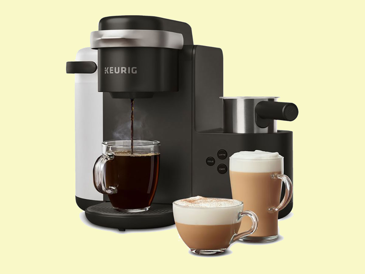 The Keurig Machine That Makes Incredible Lattes in Minutes Is Only $100 Today