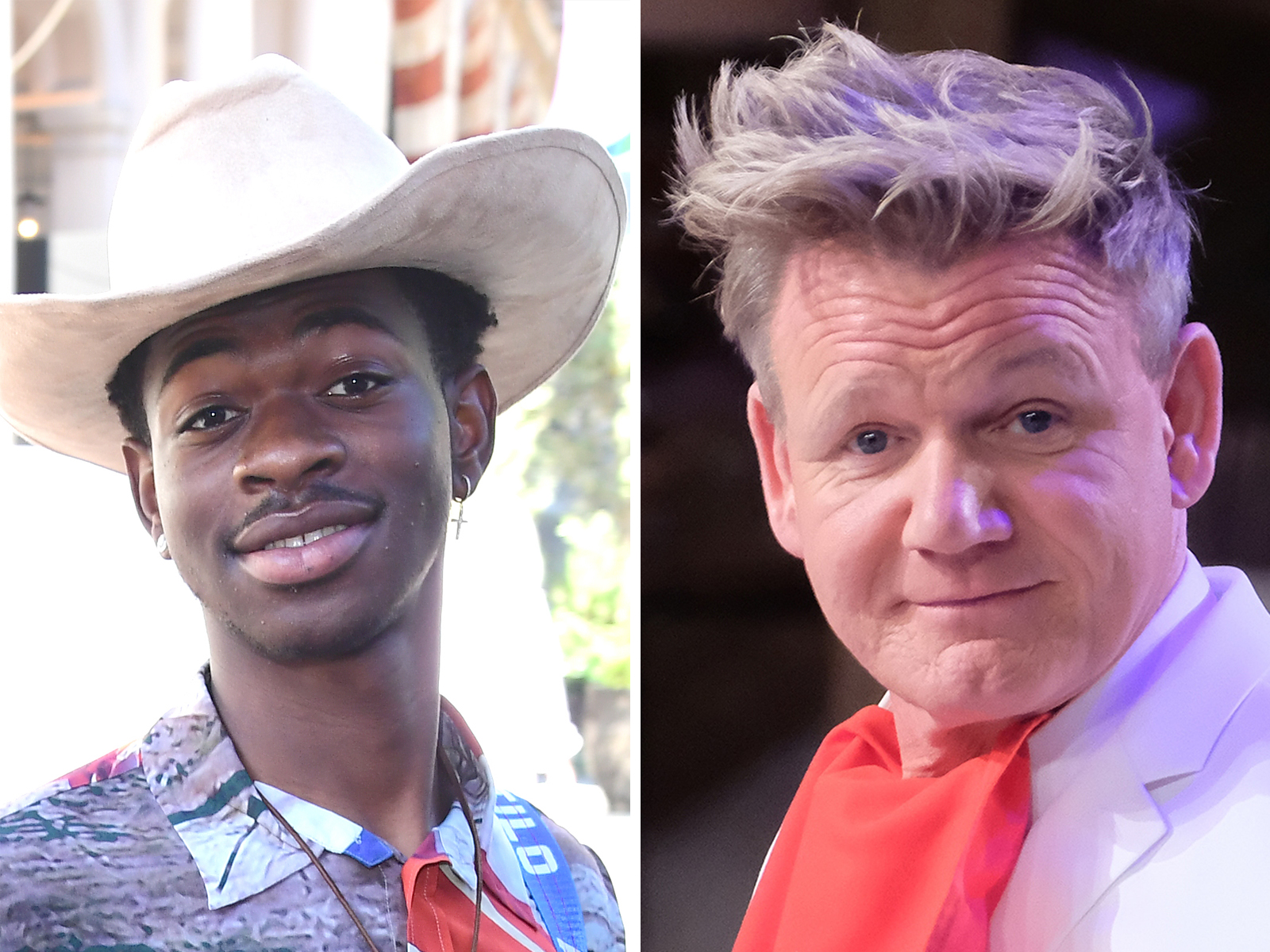 Gordon Ramsay Showed Lil Nas X How to Make Paninis