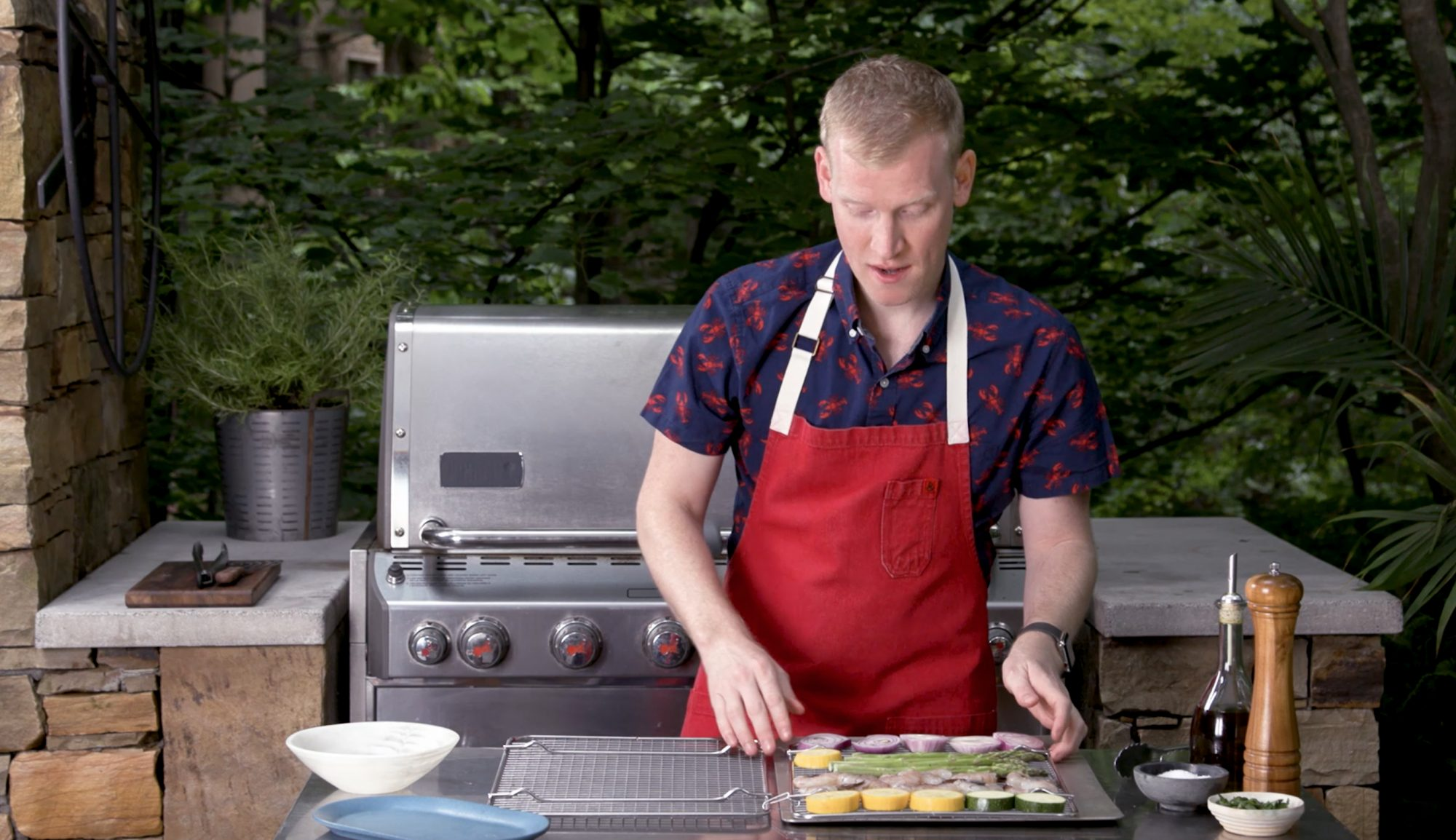 How to Make a DIY Grilling Basket in Under a Minute