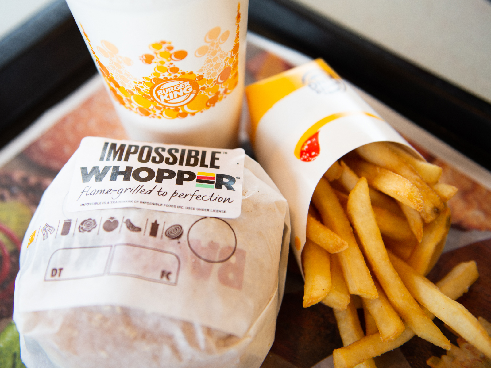 If You Ordered an Impossible Whopper You're Probably Not a Vegetarian