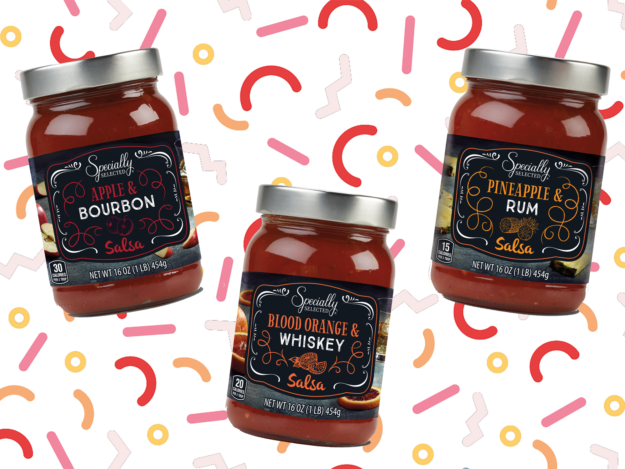 ALDI Is Releasing 3 Booze-Flavored Salsas in August