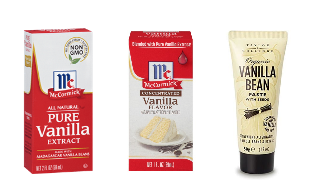 What's the Difference Between Vanilla Extract, Imitation Vanilla, and Vanilla Bean Paste?