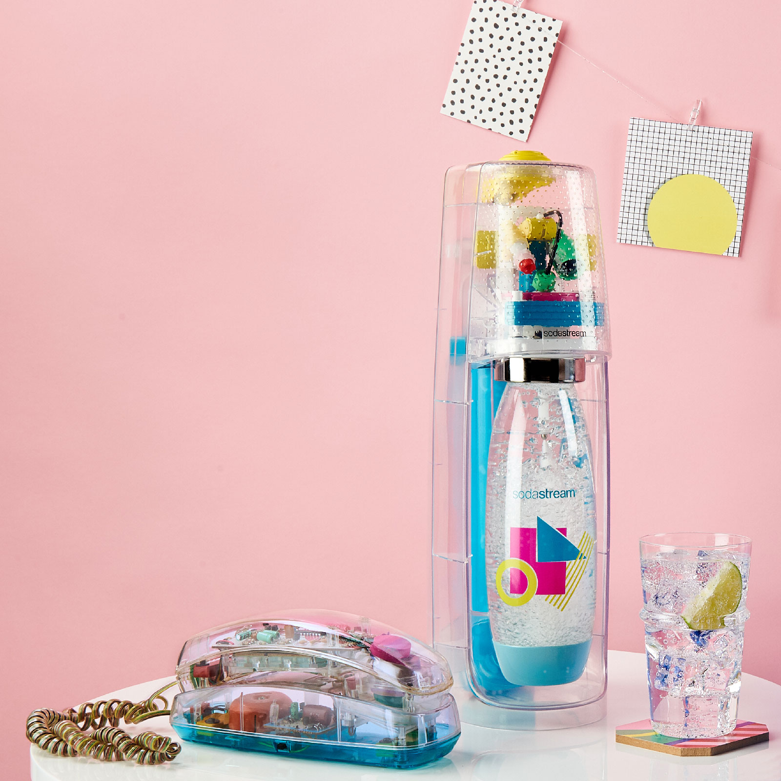 SodaStream's See-Through Model Looks Just Like That Clear Phone Every '90s Kid Wanted