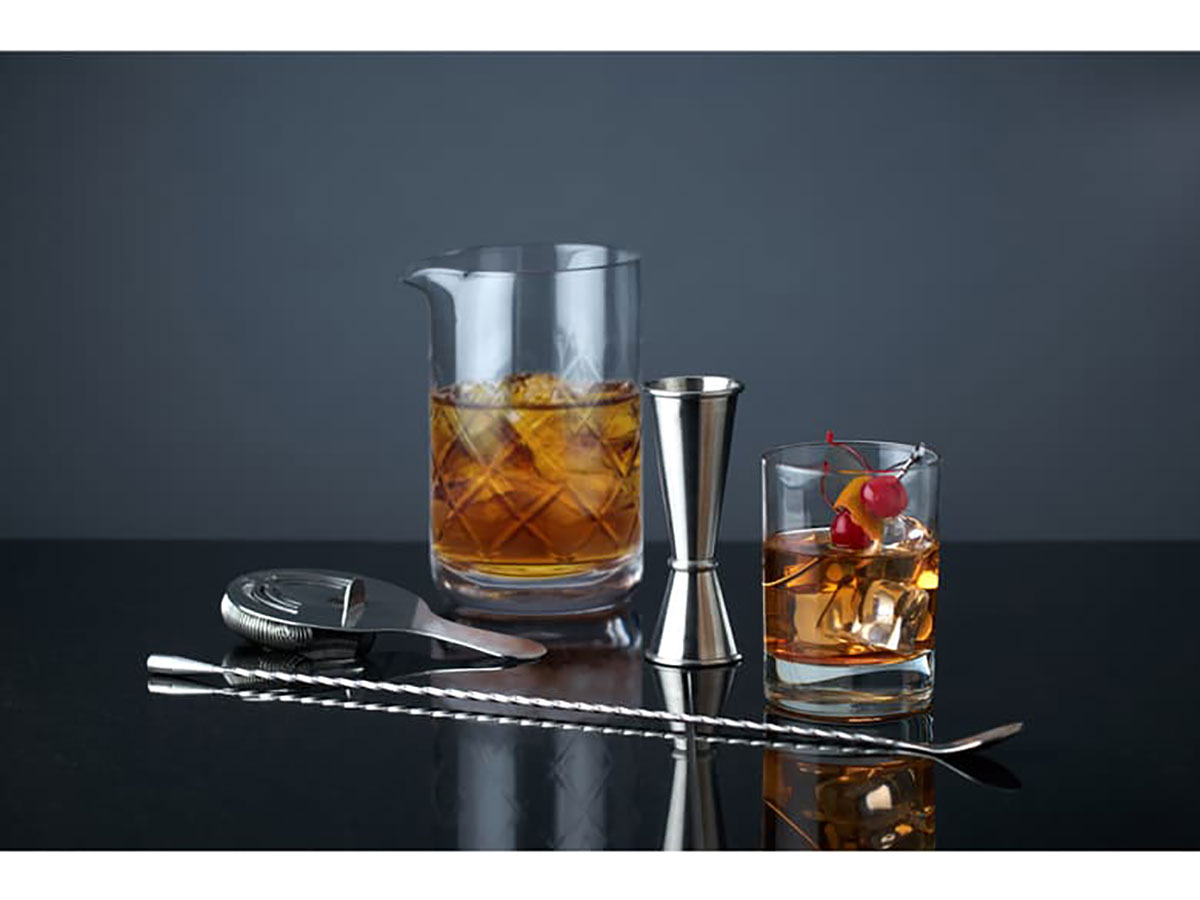 Viski Summit Professional Mixologist Barware Set