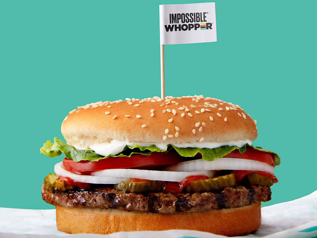 The Impossible Whopper Arrives at Burger King Locations Nationwide This Month