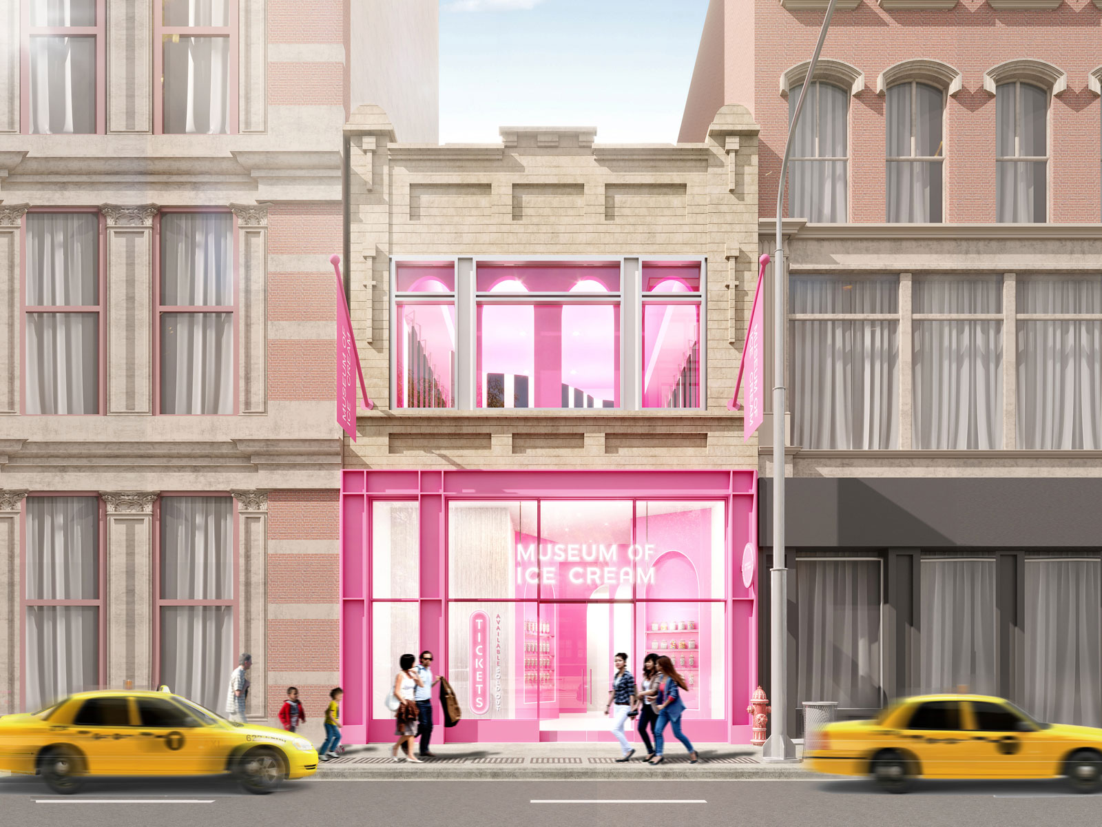 Museum of Ice Cream New York City Flagship Rendering
