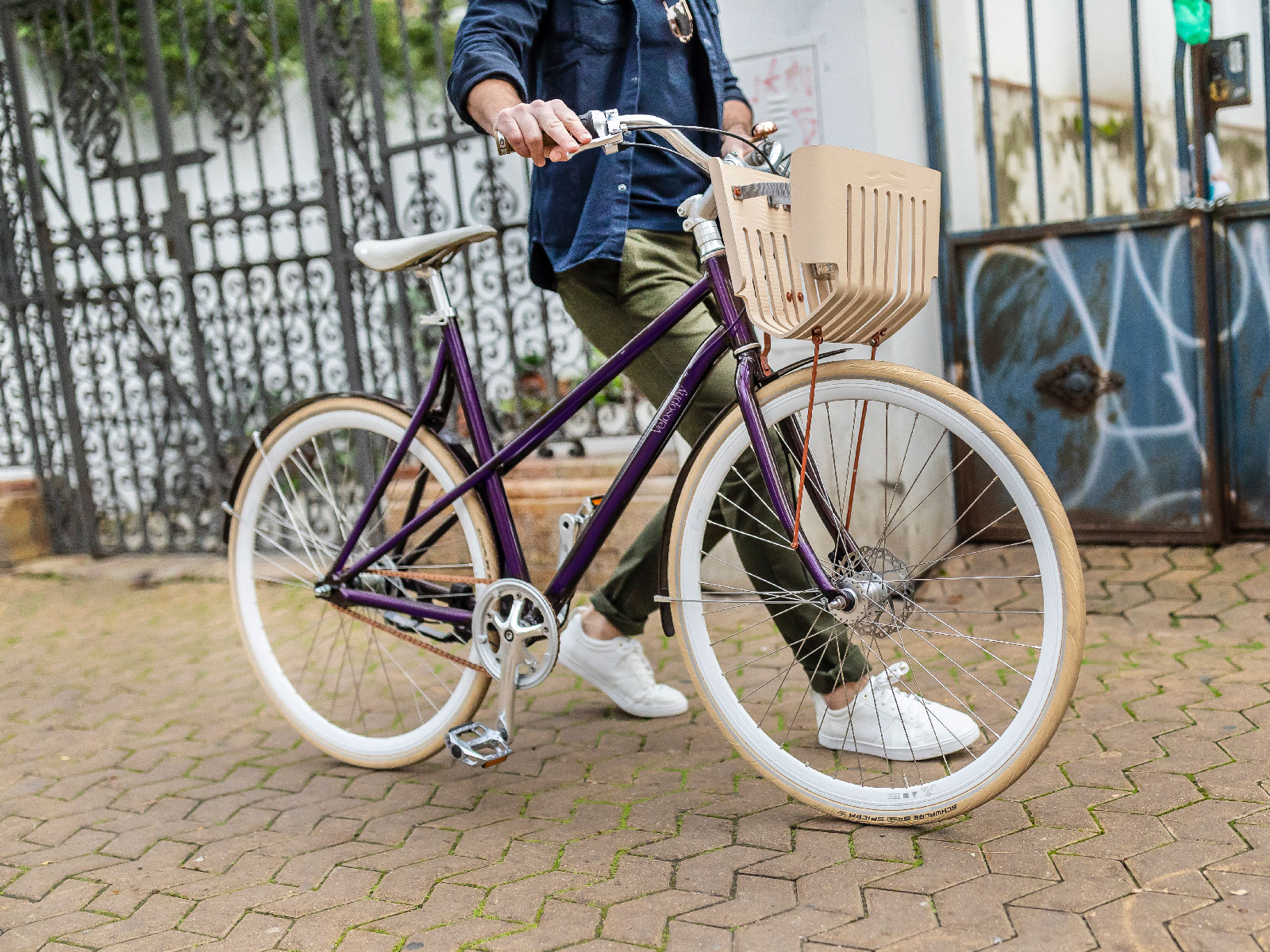 This Bicycle Is Made With 300 Recycled Nespresso Capsules