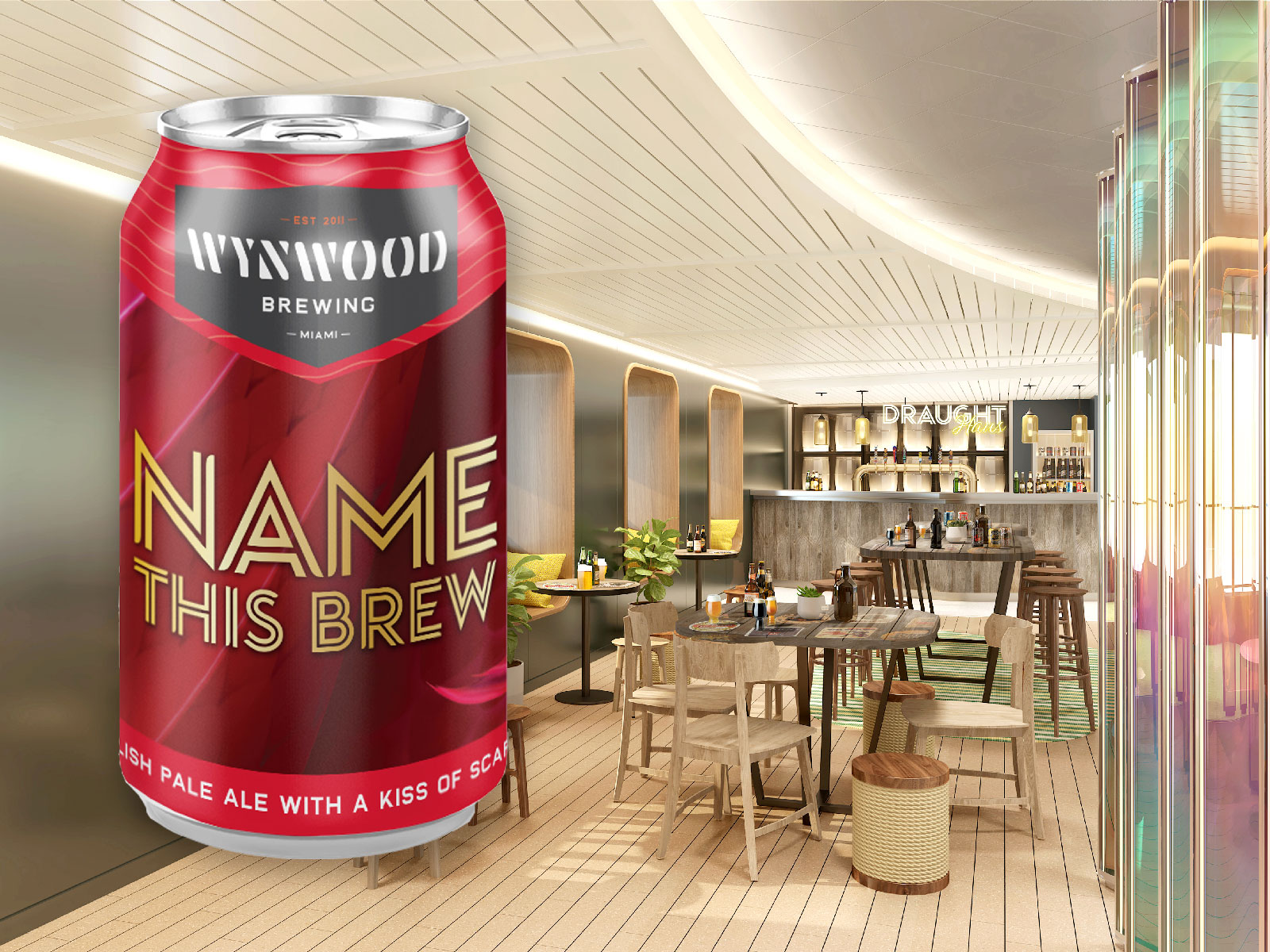 Richard Branson's Virgin Voyages Wants Your Help Naming Its Signature Beer